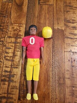 Topper Dawn Doll Van with Football Uniform Outfit  Doll