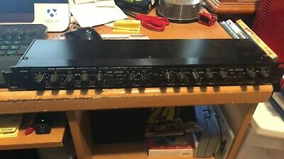 Used Alesis 3630 Compressor RMS/Peak Dual Channel Compressor Limiter With Gate