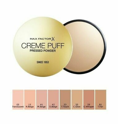 Max Factor Crème Puff Pressed Powder 21g