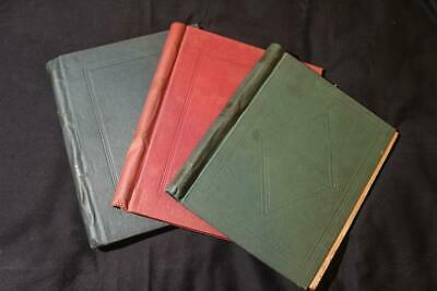 Early World Stamp Collection in 3 Albums, Countries E-V, 1861-1948