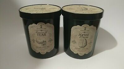 Haven st candle co wicks Apothecary Zombie Brew & Essence Of Fear