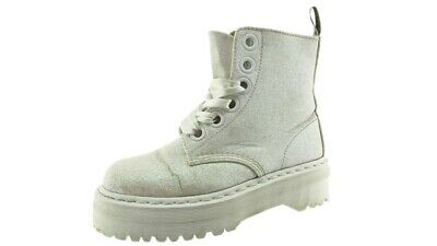 new style outlet online later DR MARTENS 6 Loch Molly Glitter Damen Boots Original Classic ...