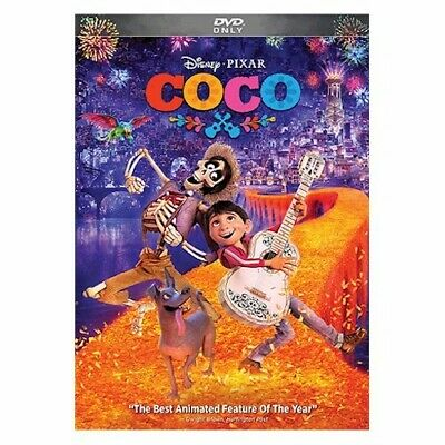 Coco (DVD, 2018) New & Sealed with Free Shipping included