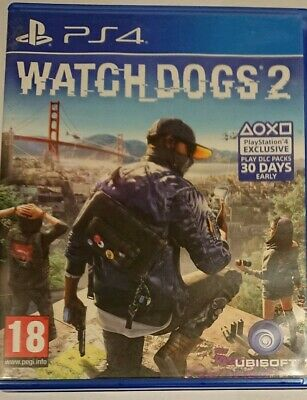 Watch Dogs 2 (PlayStation 4, PS4)
