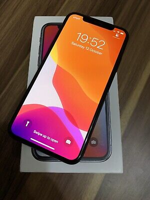 Apple iPhone X 256GB Space Grey unlocked* Phone In Excellent Condition