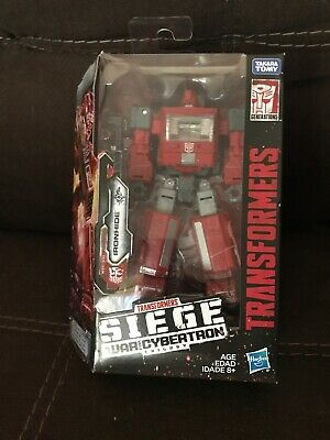 Transformers Siege War For Cybertron IRONHIDE Deluxe Class Figure WFC-S21
