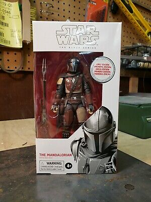 Star Wars Black Series 6 Inch Mandalorian Figure First Edition White Box Presale
