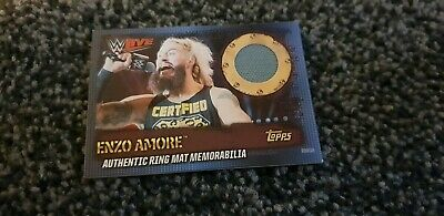 Topps WWE Slam Attax 10th edition Ring Mat memorabilia Enzo Amore