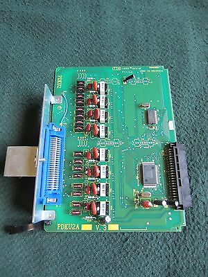 Lot of (2) Toshiba PDKU2A V.3 Digital Station Cards from Strata DK424 System