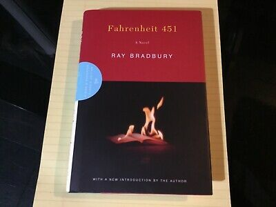 Fahrenheit 451 Book HCDJ 2003 Hand Signed In Ink Autographed By Ray Bradbury