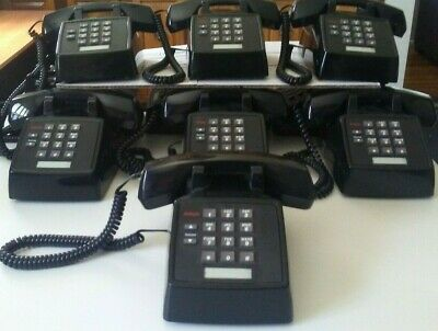 ONE Avaya AT&T Lucent Partner 2500-MMGN-003 Black Analog Phone (Excel.Condition)