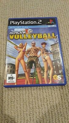 Sony Playstation 2 / PS2 - Outlaw Volleyball Remixed Game