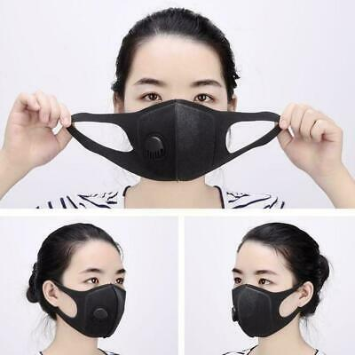 PM2.5 Dust Mask Respirator Anti Pollution Air Face Filters Masks Top T Outd X8H8