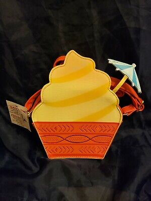 Rare Exclusive NWT Disney Parks Dole Whip Shaped Purse Bag