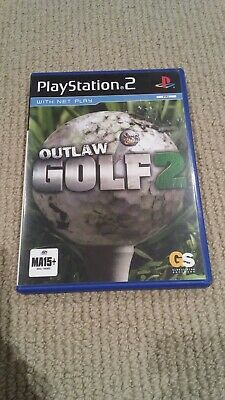 Sony Playstation 2/ PS2 - Outlaw Golf 2 Game