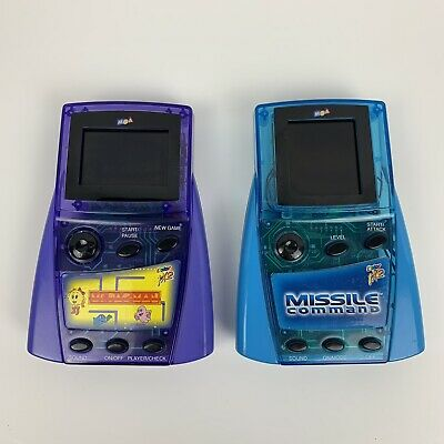 MGA Entertainment Color FX2 Handheld Game Ms. Pac-Man & Missile Command Tested
