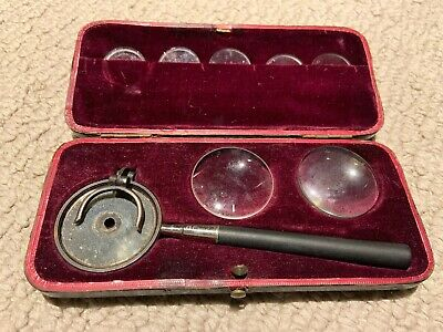 Antique Ophthalmoscope Liebreich Eye Doctor Collectible