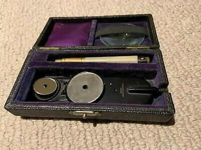 Antique Ophthalmoscope Morton Eye Doctor Collectible