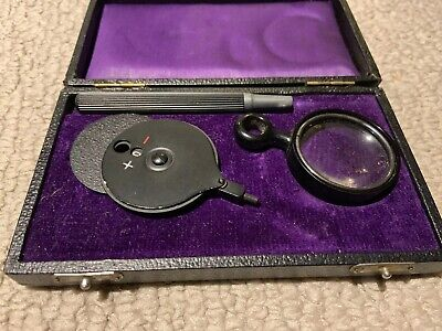 Antique Ophthalmoscope Haabs Type Eye Doctor Collectible