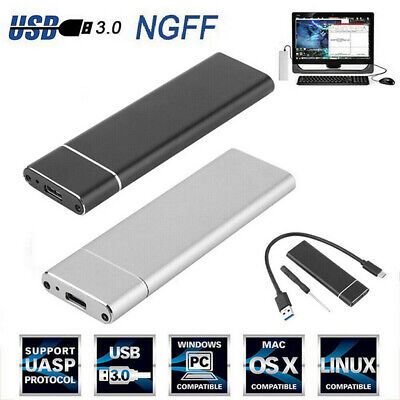 M.2 NGFF SSD Hard Disk Drive Case USB Type-C USB 3.0 NVME PCIE HDD Enclosure Bh