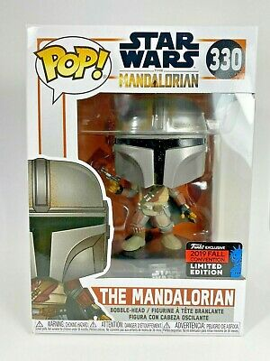THE MANDALORIAN - Funko POP Star Wars NYCC 2019 Funko Shop Shared Exclusive #330