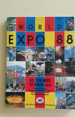 WORLD EXPO **Official Souvenir Program  With pull out Entertainment Booklet