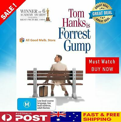 Forrest Gump DVD | 6 Acacemy Award Winners| Tom Hanks | NEW + FREE POSTAGE