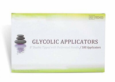 """Glycolic Applicators 8"""". Case of 1000 Dual Tipped Applicators for esthetic..."""