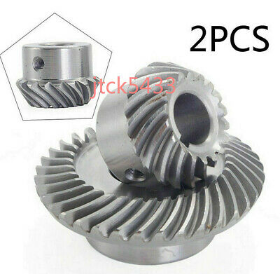 Milling Machine Lifting Gear C77+C96 Helical Mill Gear For Bridgeport Part 1Set