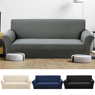 Stretch Sofa Slipcovers Washable Pet Protector Soft Couch Covers 1/2/3/4 Seater