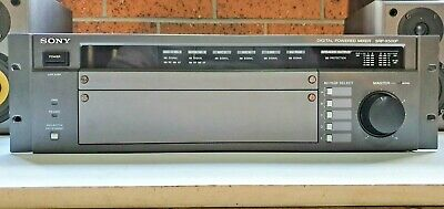 SONY SDP-X500P A/V Matrix Mixer with Built-in 4 Channel Digital Power Amplifier