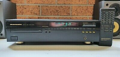 Hi End MARANTZ CD-50 with the famous TDA1541A digital converter with remote