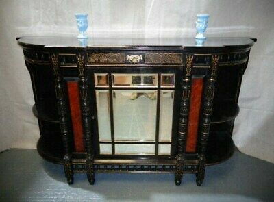 ANTIQUE AESTHETIC MOVEMENT VICTORIAN SIDEBOARD c1880 VINTAGE HOME BAR COCKTAIL