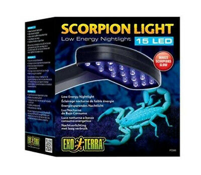 Exo Terra Scorpion Light PT2365 makes Scorpions Fluoresce