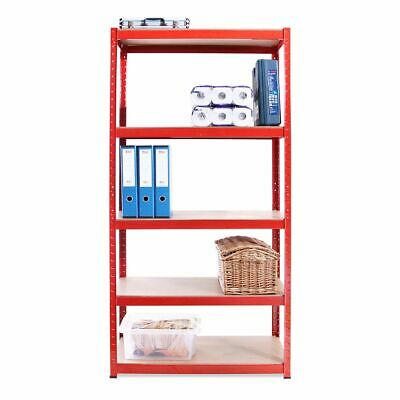 Used Garage Shed Racking Storage Shelving Units Boltless Heavy Duty 5 Shelves