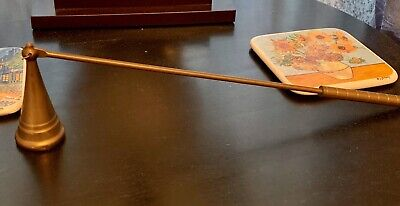 Vintage Solid Brass Candle Snuffer - Halloween Decor!!