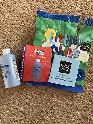 Marks And Spencer M&S Food Little Shop Mini Collectable Washing Up Liquid