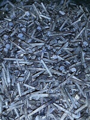 "Lot of 50 1 3/8"" Rose Head square nails antique nails used ☆X-Fine☆"