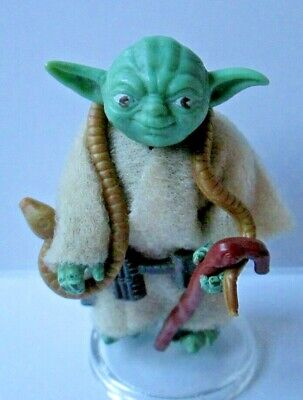 Vintage Star Wars Yoda POCH/PBP EARLY TRANSITION, Exc. Cond., Head green apple