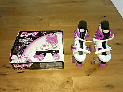 Osprey Quad Skates Roller Boots Size 13 1 2 3  Adjustable.Padded boxed