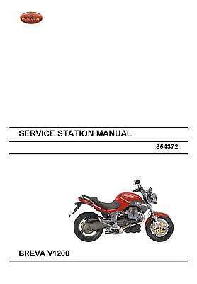 Moto Guzzi workshop service manual 2007 BREVA V1200