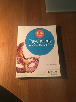 Aqa A-Level Psychology Revision Made Easy - Jean-Marc Lawton