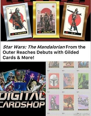 Topps Star Wars Card Trader SWCT Mandalorian From Outer Reaches Set of 14