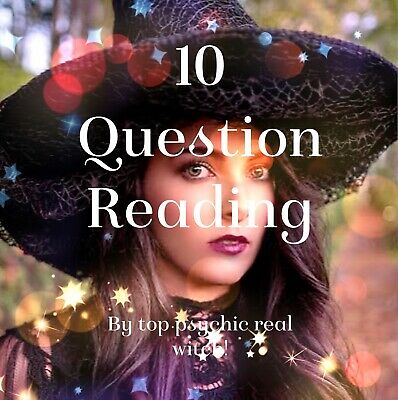 ACCURATE Psychic Reading 10 Question Email Reading By Top Psychic