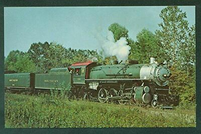 Southern Railway Green Steam Engine Mountaineer Special Train Railroad Postcard