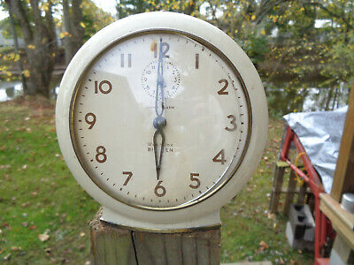 ANTIQUE VINTAGE Clock CHIME ALARM ESTATE WESTCLOX USA BIG BEN MID C PARTS AS-IS!