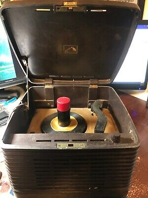 RCA Victor Victrola Bakelite Phonograph Record Player 45-EY-3 for Restoration