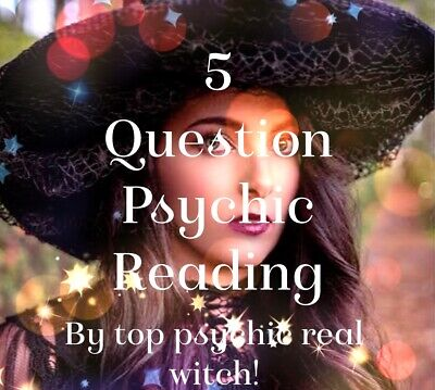 ACCURATE Psychic Reading 5 Question Email Reading By Top Psychic