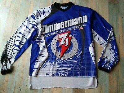 Maillot Moto Wallracing Zimmermann Taille/Xl/D7 Be