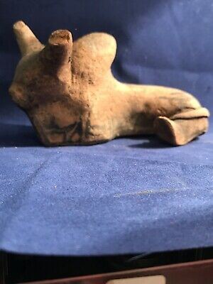Circa 2000-1800Bce Ancient Indus Valley Harappan Terracotta Bull Figurine